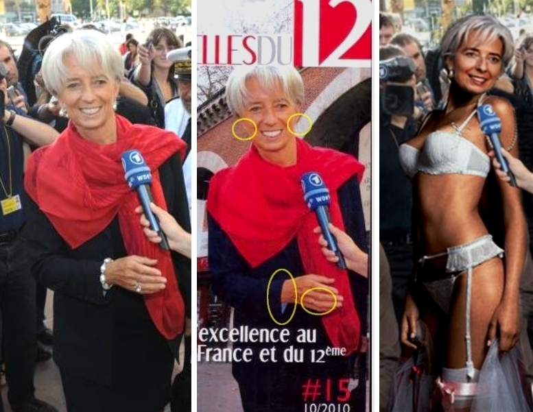 photoshop censure christine lagarde