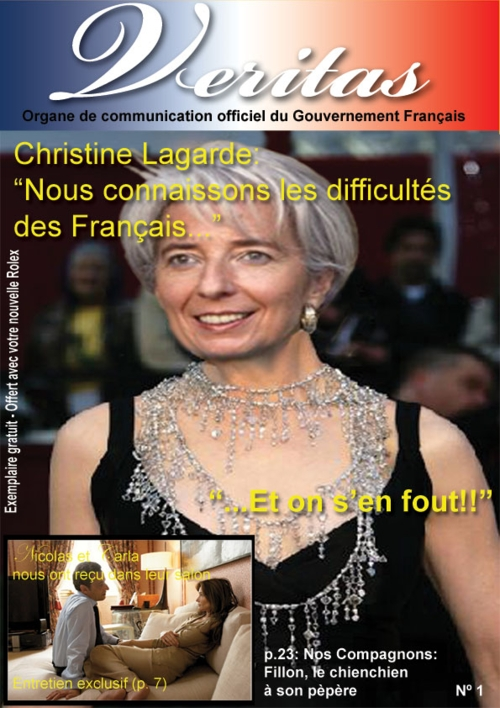 concours photoshop christine lagarde
