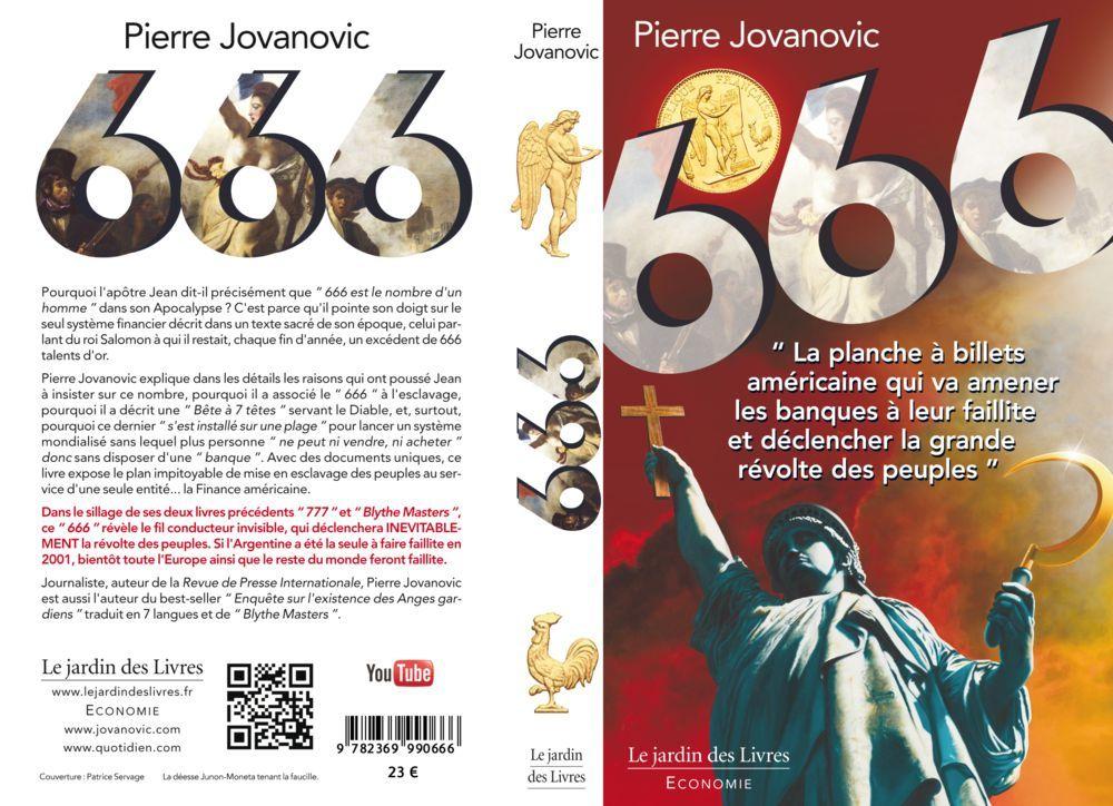 Explication de l'apocalypse par Pierre Jovanovic le livre 777 666couve-rdp