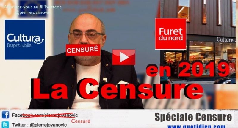 Le point sur les censures touchant les d�dicaces de Pierre Jovanovic en 2019