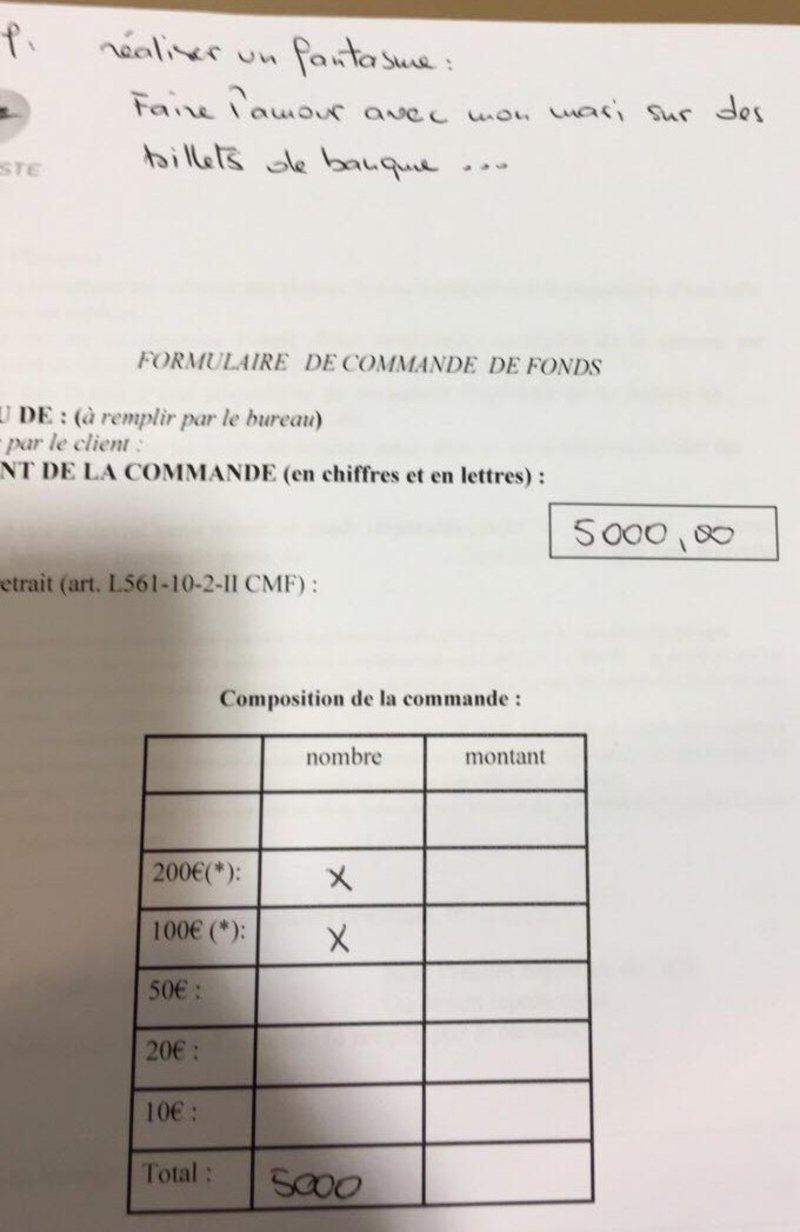la banque postale retrait 5000 euros