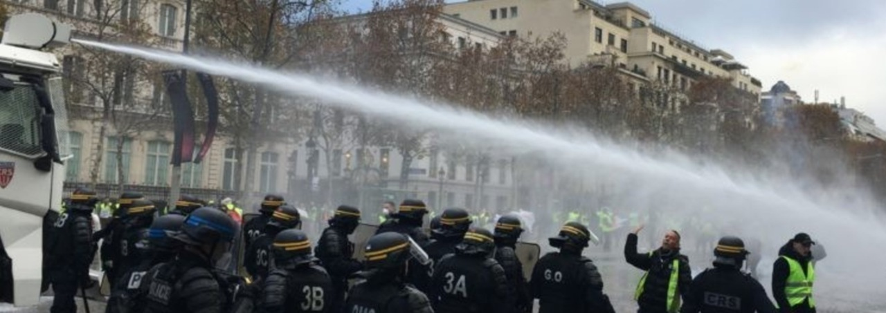 ilets jaunes paris champs elysees 17 nov 2018 jovanovic