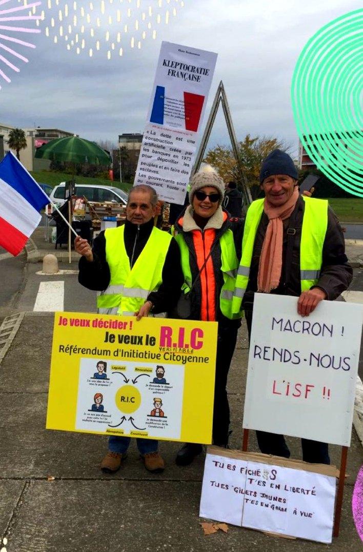 kleptocratie francaise dec 2018 gilets jaunes