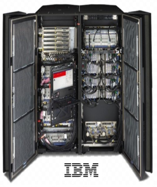 ibm z14 open doors