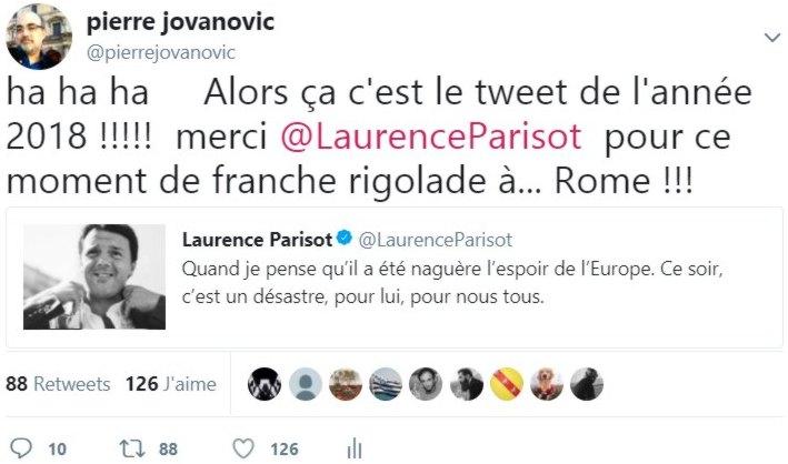 laurence parisot 2018