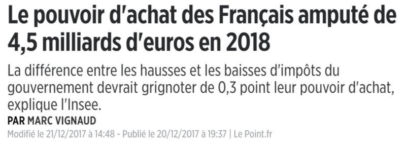 hausses 2018
