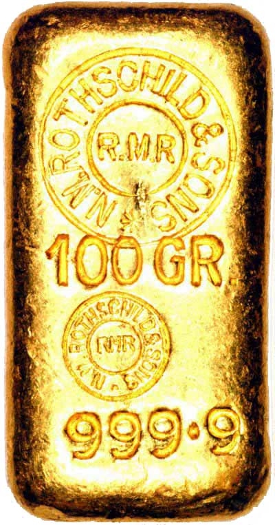 lingot d'or rothschild