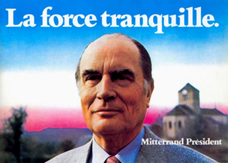 mitterrand 1981 la force tranquille