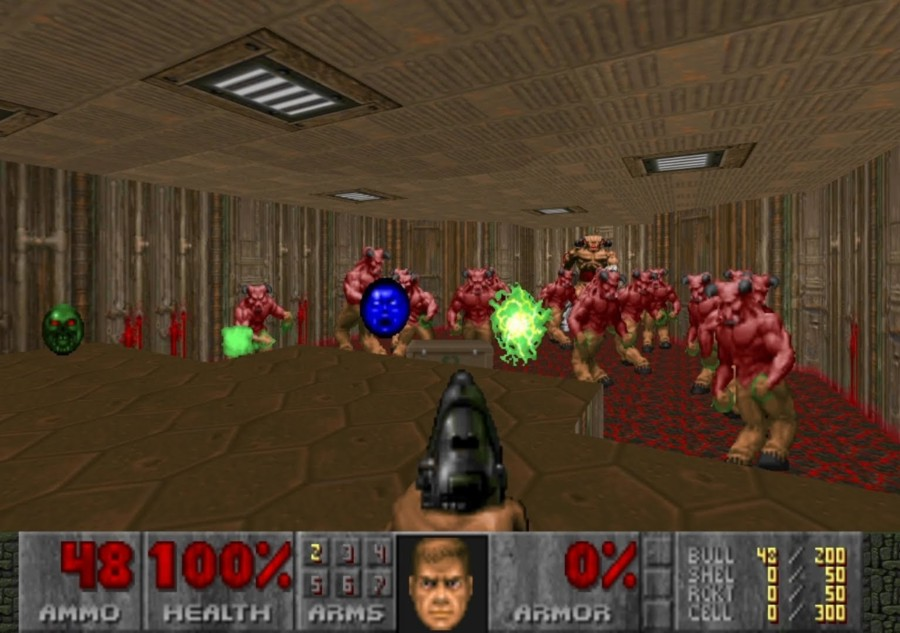 doom 2 le genie informatique en actions sous ms-dos