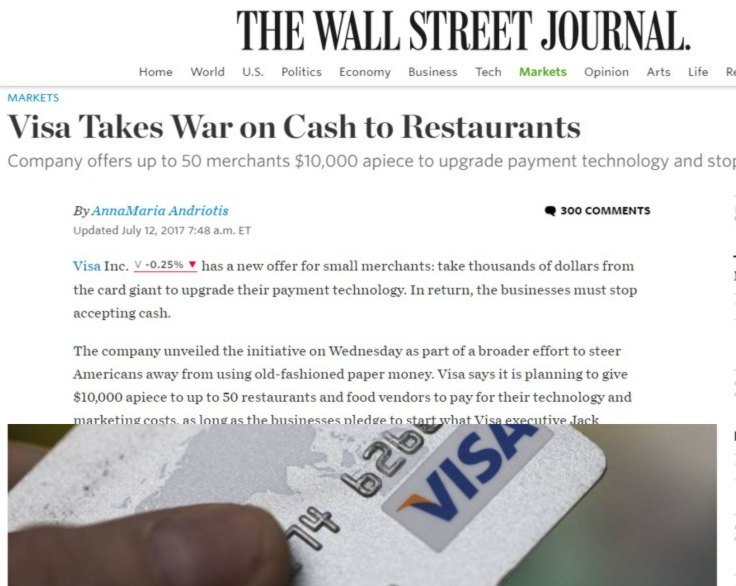 visa big brother wsj